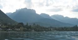 Lac d'Annecy - vue Dents de Lanfon