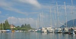 Lac d'Annecy - vue port St Jorioz