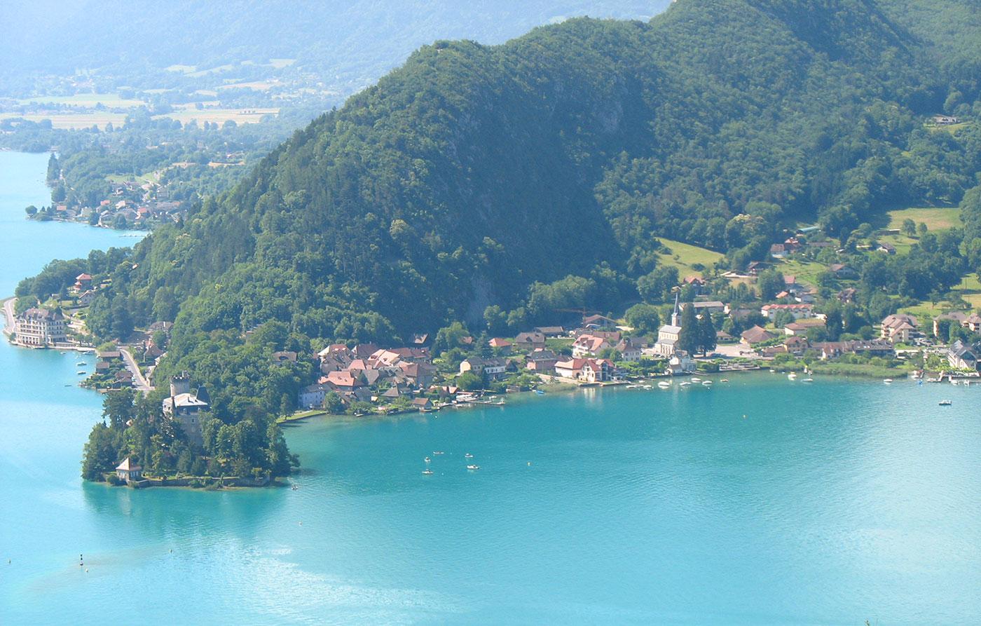Lac Annecy - Crédit photos : A. Huchet (tous droits réservés)