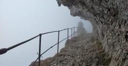 Brouillard à la Montagne du Charbon