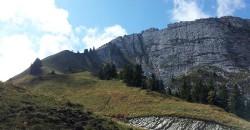 Sur le plateau de la montagne du Charbon